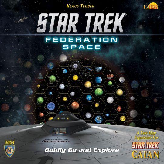 Star Trek: Catan – Federation Space Map Set