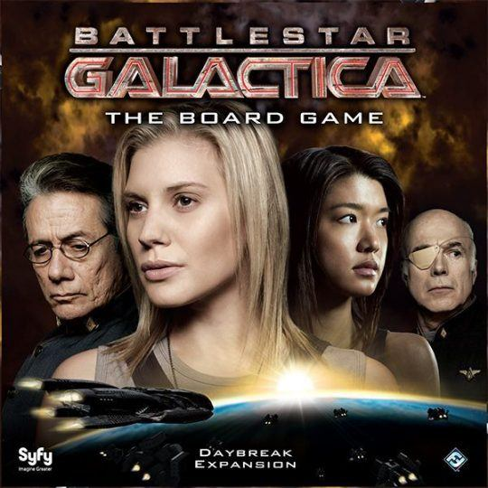 Battlestar Galactica: The Board Game – Daybreak Expansion