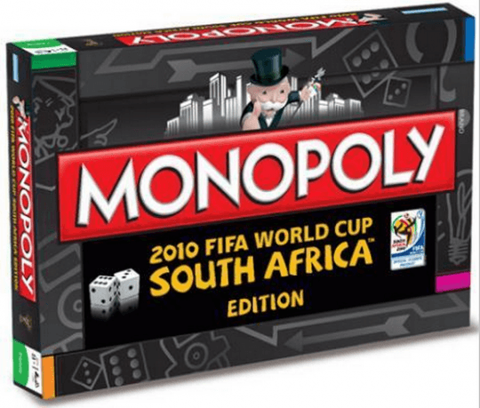 Monopoly: 2010 Fifa World Cup South Africa Edition