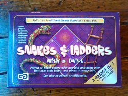 Snakes and Ladders + Ludo With A Twist