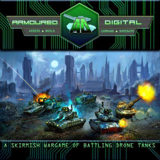 Armoured Digital Miniatures Game