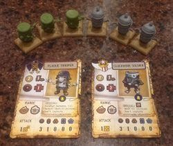 Rivet Wars: Clockwork Soldiers vs. Plague Troopers