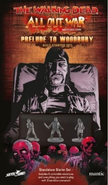 The Walking Dead: All Out War – Prelude to Woodbury Solo Starter Set