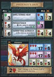 One Deck Dungeon: Phoenix's Den