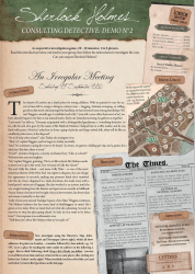 Sherlock Holmes Consulting Detective: An Irregular Meeting