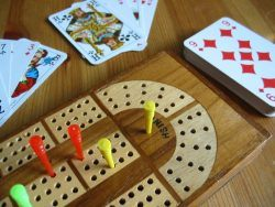 Drueke Cribbage Board No. 1