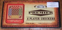 4 Player Checkers