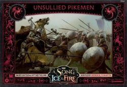 A Song of Ice & Fire: Tabletop Miniatures Game – Targaryen Unsullied Pikemen