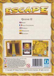 Escape: La Malediction du Temple – Queenie 12: Salle Coulissante